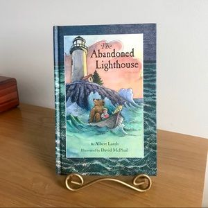The Abandoned Lighthouse, Pre-owned Hardcover Book